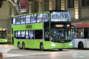 Bus 171: SMRT MAN Lion's City DD A95 (SG5942L)