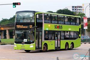 Bus 129: SBS Transit MAN Lion's City DD A95 (SG5953E)