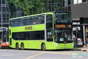 Bus 145: SBS Transit MAN Lion's City DD A95 (SG5992S)