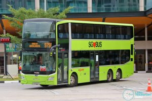 Bus 975A: SMRT MAN Lion's City DD A95 (SG6020R)