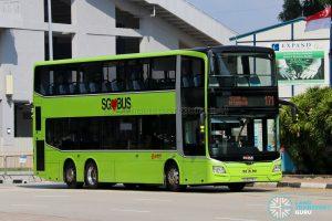 Bus 171: SMRT MAN Lion's City DD A95 (SG6079Y)