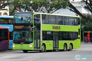 Bus 10: SBS Transit MAN Lion's City DD A95 (SG6082L)