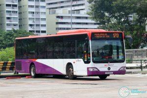 Bus 170: SBS Transit Mercedes-Benz Citaro (SBS6111A)