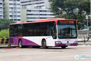 Bus 170A: SBS Transit Mercedes-Benz Citaro (SBS6111A)