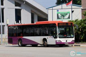 Bus 195: SBS Transit Mercedes-Benz Citaro (SBS6285G)