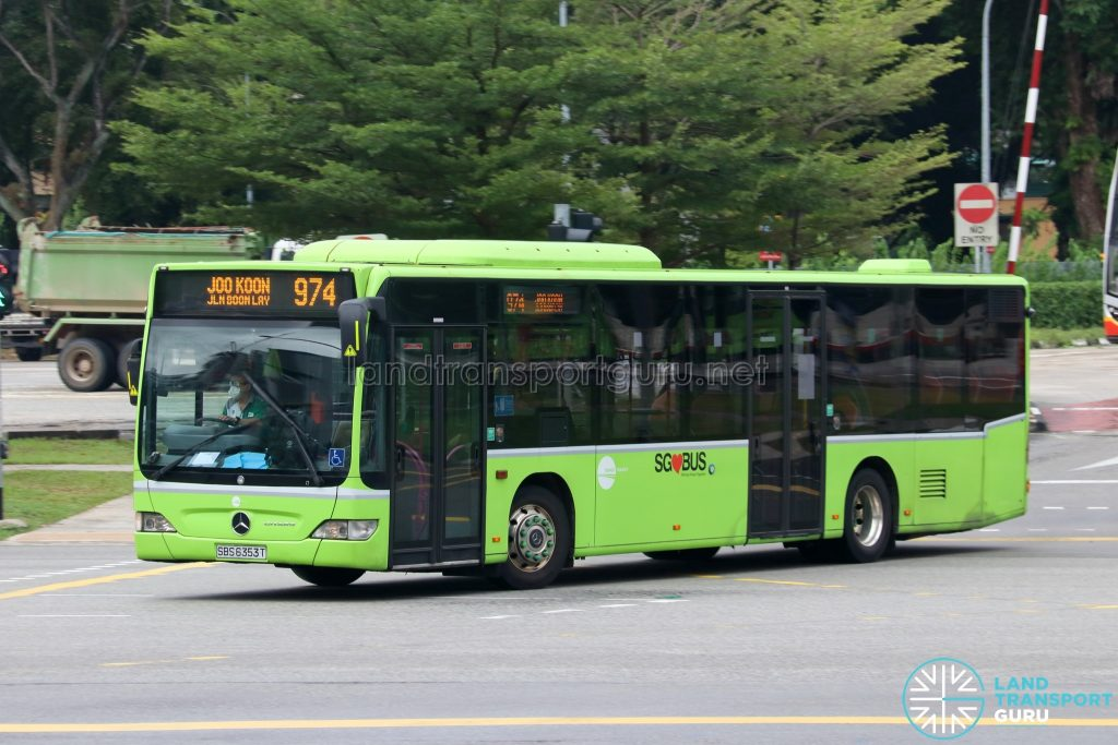 Bus 974: Tower Transit Mercedes-Benz Citaro (SBS6353T)