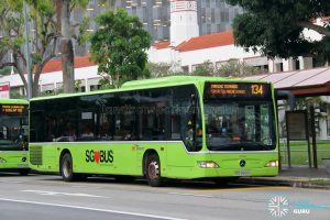 Bus 134: SBS Transit Mercedes-Benz Citaro (SBS6868A)