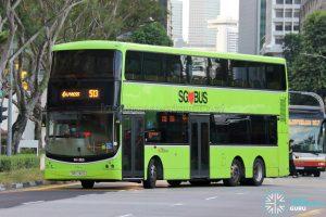 Bus 513: SBS Transit Volvo B9TL CDGE (SBS7401G)