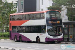 Bus 807: SBS Transit Volvo B9TL Wright (SBS7607E)