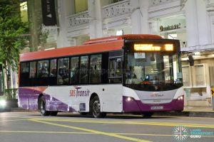 Bus 131: SBS Transit Scania K230UB (SBS8050D)