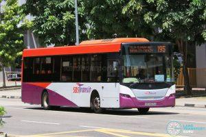 Bus 195: SBS Transit Scania K230UB Euro V (SBS8829A)
