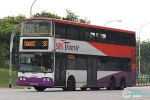 Bus 50: SBS Transit Volvo B10TL (SBS9844Z)