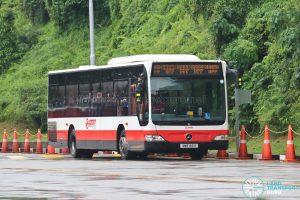 SMRT Buses Mercedes-Benz Citaro (SMB166R)