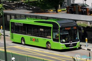 Bus 136: Go-Ahead MAN Lion's City A22 (SG1720L)