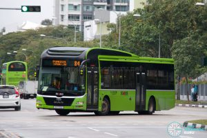 Bus 84: Go-Ahead MAN Lion's City A22 (SG1720L)
