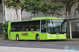 Bus 67: SMRT MAN Lion's City A22 (SG1755L)