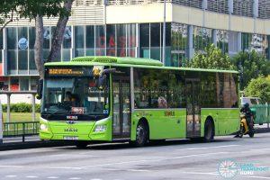 Bus 102: SBS Transit MAN Lion's City A22 (SG1767C)