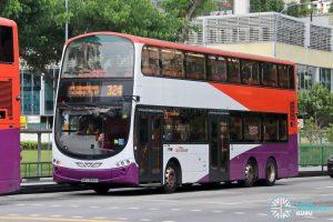 Bus 324 - SBS Transit Volvo B9TL Wright (SBS3684H)