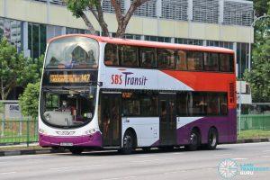Bus 147 - SBS Transit Volvo B9TL Wright (SBS3883A)