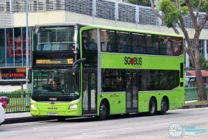 Bus 102: SBS Transit MAN Lion's City DD A95 (SG5931T)