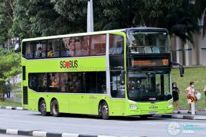 Bus 101: SBS Transit MAN Lion's City DD A95 (SG6044Y)
