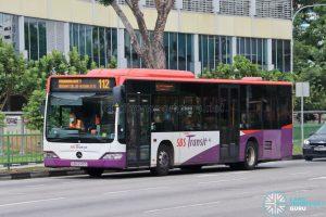 Bus 112 - SBS Transit Mercedes-Benz Citaro (SBS6149S)
