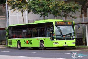 Bus 150 - SBS Transit Mercedes-Benz Citaro (SBS6859B)