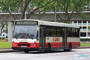 Bus 941: SMRT DAF SB220 (TIB697Y)