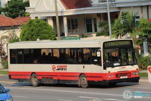 Bus 975: SMRT DAF SB220 (TIB701T)