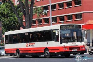 Bus 975: SMRT DAF SB220 (TIB705H)