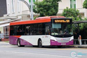 Bus 134 - SBS Transit Scania K230UB Euro IV (SBS8178U)