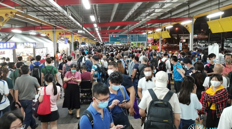 Crowd Level during MRT Disruption - Jurong East Temp Int