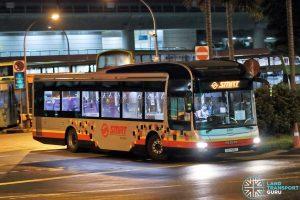 NSL Free Bridging Bus - SMRT Buses MAN A22 (SG1705G)
