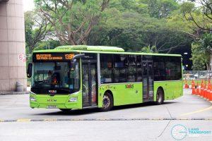 Bus 139M - SBS Transit MAN A22 Euro 6 (SG1783E)