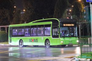 EWL Free Bridging Bus - Tower Transit MAN A22 (SMB3032Z)
