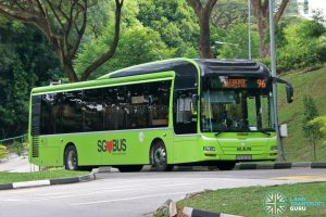 Bus 96 - Tower Transit MAN A22 (SMB3035R)