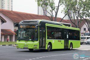 Bus 106A: Tower Transit MAN A22 (SMB3043S)