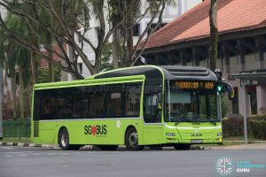 Bus 189: Tower Transit MAN A22 (SMB3074C)