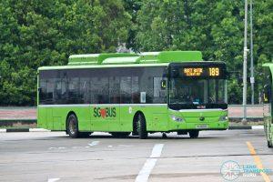 Bus 189: Tower Transit Yutong E12 (SG3091E)