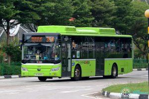 Bus 354: Go-Ahead Yutong E12 (SG3093A)