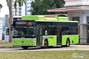 Bus 354 - Go-Ahead Singapore Yutong E12 (SG3094Y)