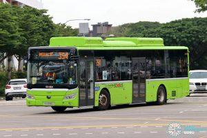 Bus 354: Go-Ahead Yutong E12 (SG3095U)