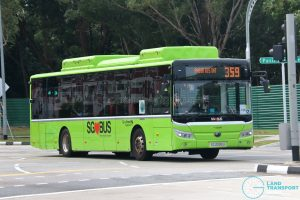 Bus 359 - Go-Ahead Singapore Yutong E12 (SG3095U)