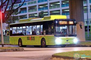 Bus 944: SMRT Buses Yutong E12 (SG3097P)
