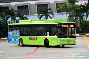 Bus 944: SMRT Buses Yutong E12 (SG3098L)