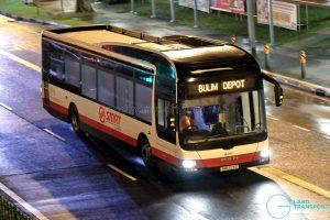 Bulim Depot - SMRT Buses MAN A22 (SMB323D)