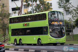 Bus 106: Tower Transit Volvo B9TL Wright (SBS3343S)