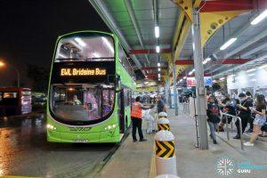 Tower Transit EWL Free Bridging Bus (SBS3397L) at Jurong East Temp Int