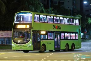 Bus 3A - Go-Ahead Singapore Volvo B9TL Wright (SBS3476S)