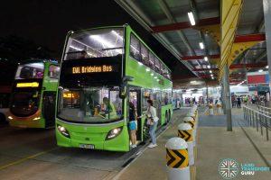 Tower Transit EWL Free Bridging Bus (SMB3512E) at Jurong East Temp Int